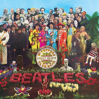 album rock legendaris sgt pepper's lonely hearts club band