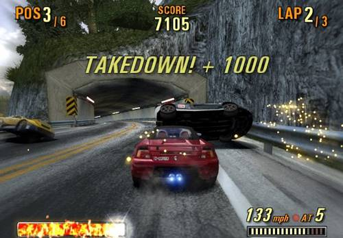 cheat burnout 3 takedown