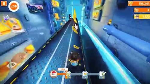 game yang paling banyak dimainkan android minion rush