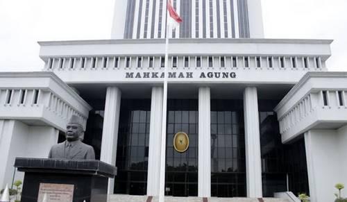 dasar hukum mahkamah agung (ma)